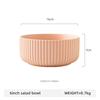 6inch pink salad bowl