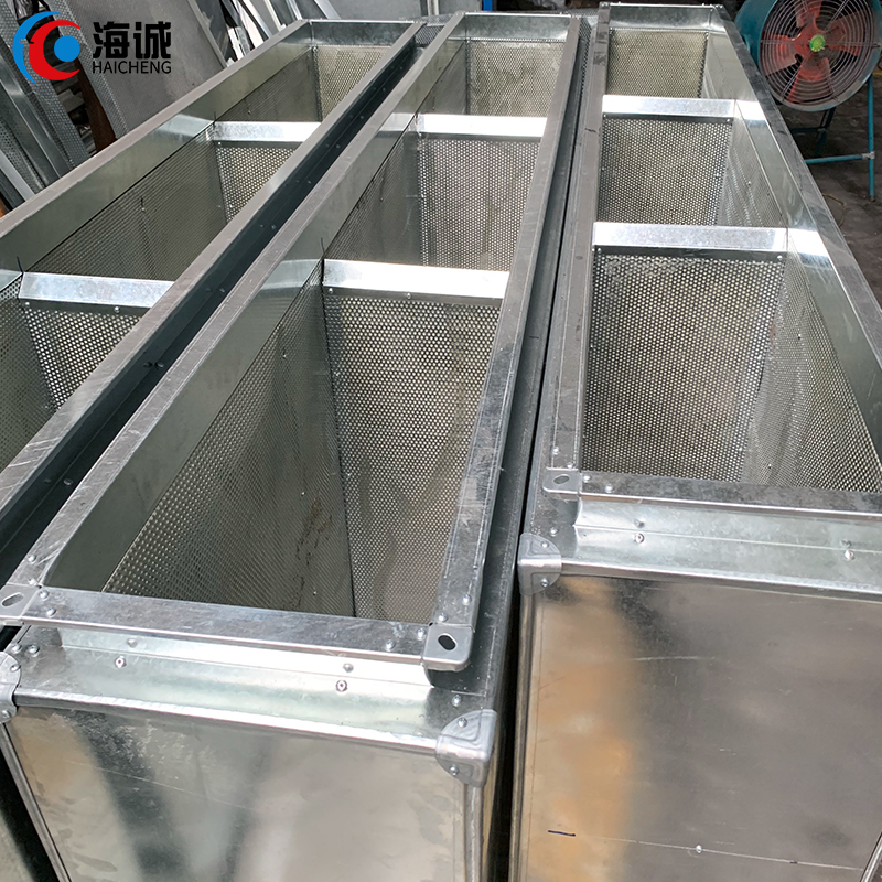 Air Conditioning Electric Air Duct Damper Plastic Ducts Air Conditioning Duct muffler