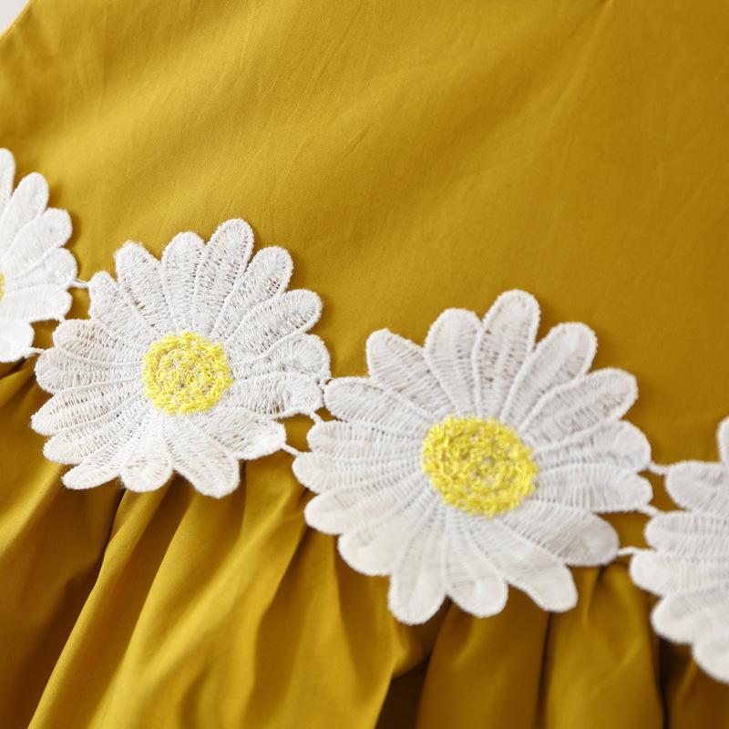 Sunny Baby Korean Children Lace Vest Dress Hot Sale Baby Dress Girl Summer