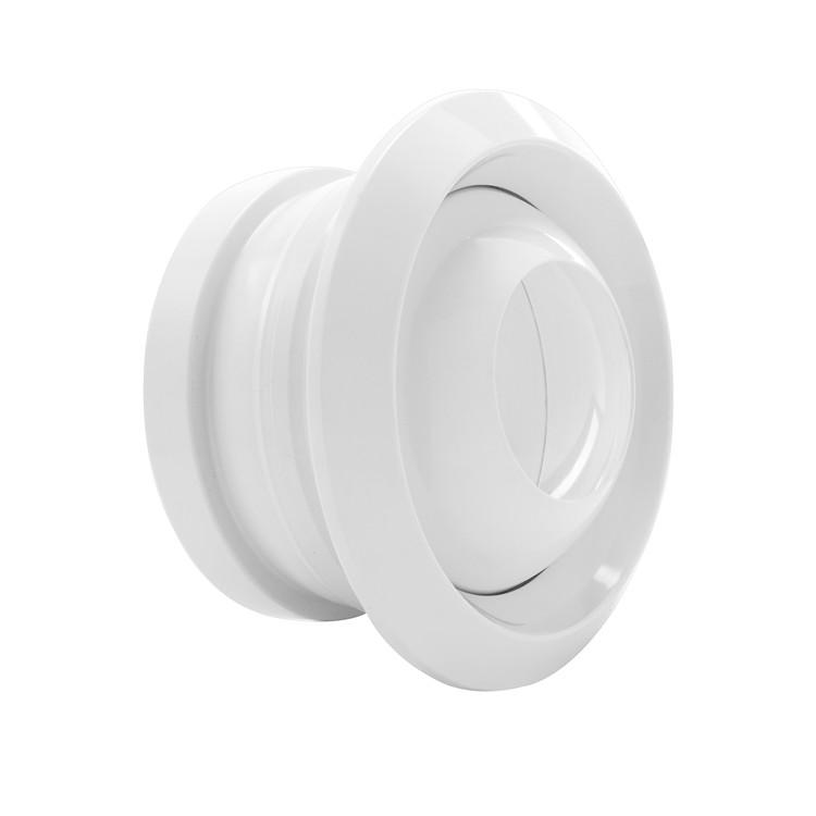 ABS spherical adjustable diffuser air filter for modern workshop