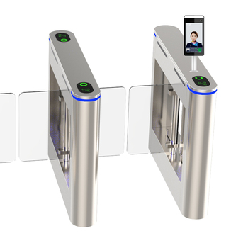 automatic security swing turnstile barrier gate