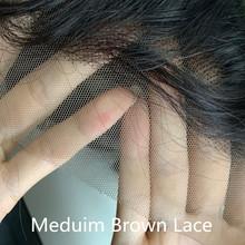 Малайзийские HD прозрачные кружевные передние человеческие волосы парики 13x4 150 плотность свободные волнистые парики предварительно выщипа...(Китай)