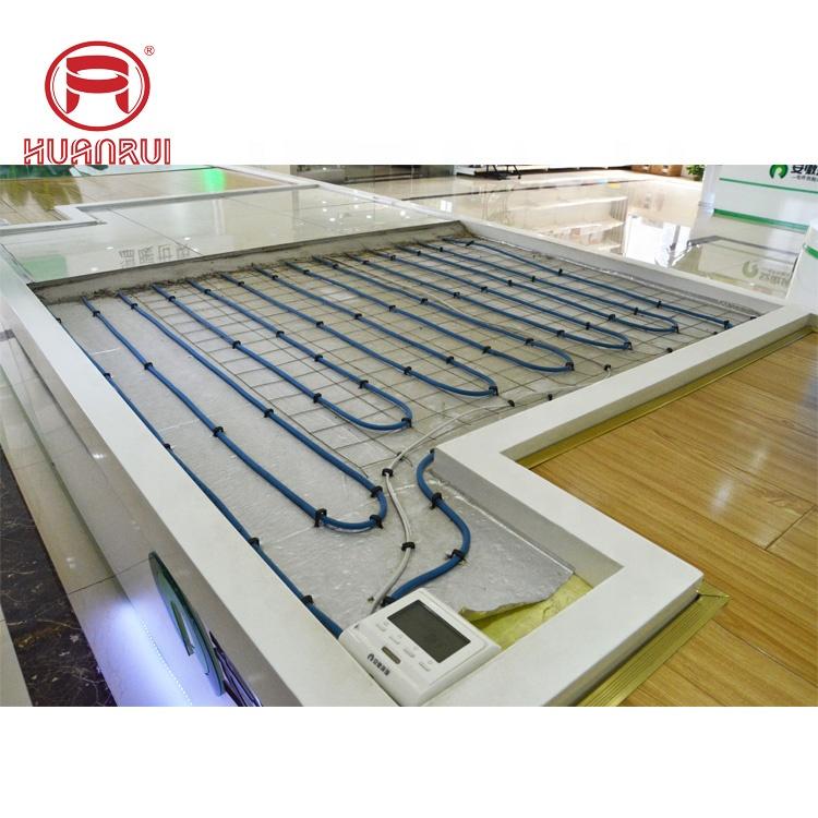 Floor heating dry system electric floor warming kit tile heater mat