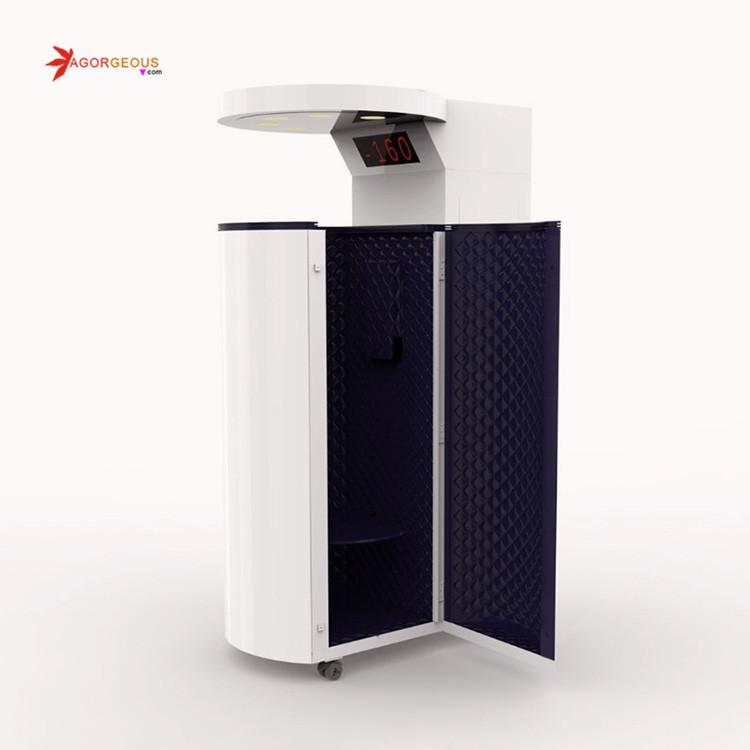 Криотерапевтическая камера для снижения веса, удаление целлюлита, криолиполиз, тело для похудения, криолиполиз, замораживание жира, 360 Крио-машина