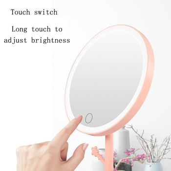 Factory Price Hot Selling Makeup Mirror with Lights Led Touch Screen Make Up LED Small Makeup Vanity Mirror Battery Operated