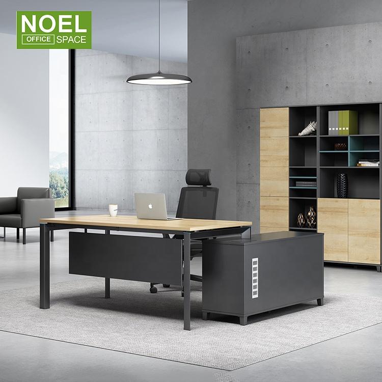 Новое поступление, компьютерные столы, Современная Минималистичная рабочая станция MFC для одного человека, стол с ящиками для шкафа