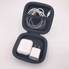 Square EVA Carrying Cases For Cellphone Earphone Headset Earbuds Pouch Storage Bags