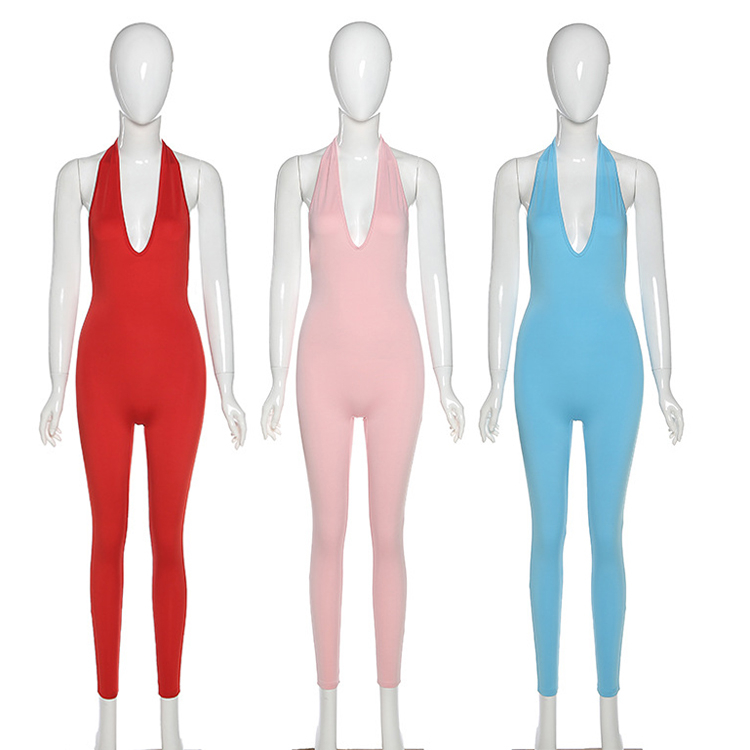 Best Quality MOEN Backles Sexy Ropa mameluco Women Fashion Clothing Women One Piece Jumpsuits And Rompers