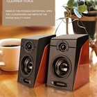 Personalized wire speaker manufacturers in china Watching movies immersion home theatre system Portable Wooden Loud