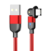 Red cable with micro