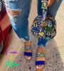 SKU02-Blue snake Bag with shoes