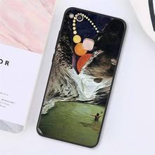 MaiYaCa отличный Чехол для телефона с изображением космонавта Луны девушки для huawei Y9 Y7 Y6 II Y5 II Y7 Prime 2018 2019(Китай)