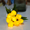 Yellow 1 Bouquet(8Flower)with light