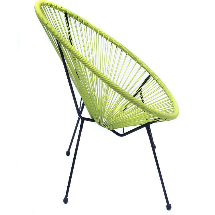 Уличный пластиковый стул из ротанга, мебель, садовый стул для яиц, садовая мебель, стул Акапулько, современный стул для бистро