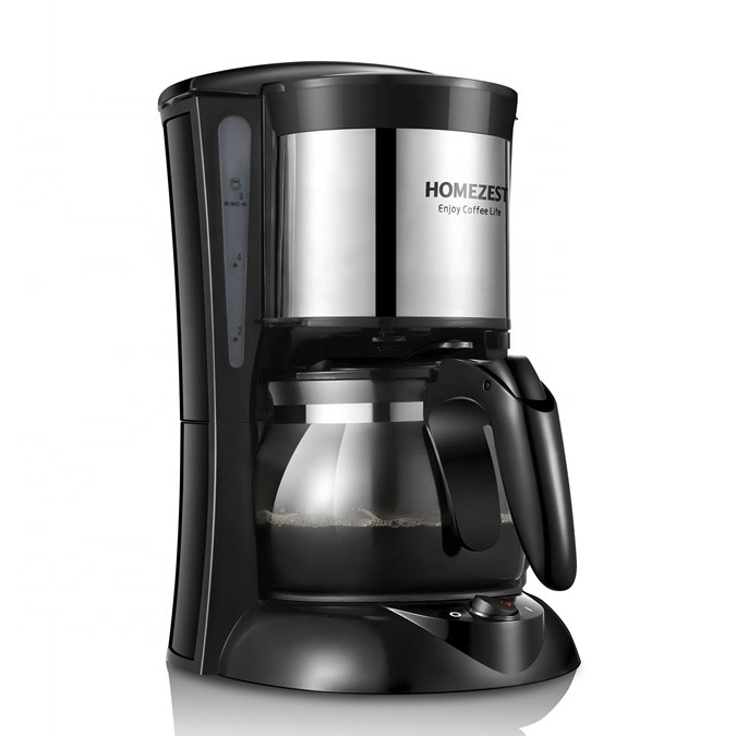 HOMEZEST  CM-323B HOME USE COFFEE MACHINE 0.65L FILTER  4-6 CUPS DRIP  COFFEE MAKER