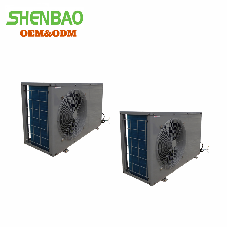 EVI -25 degrees floor heating heat pump system, air to water heat pump water heater