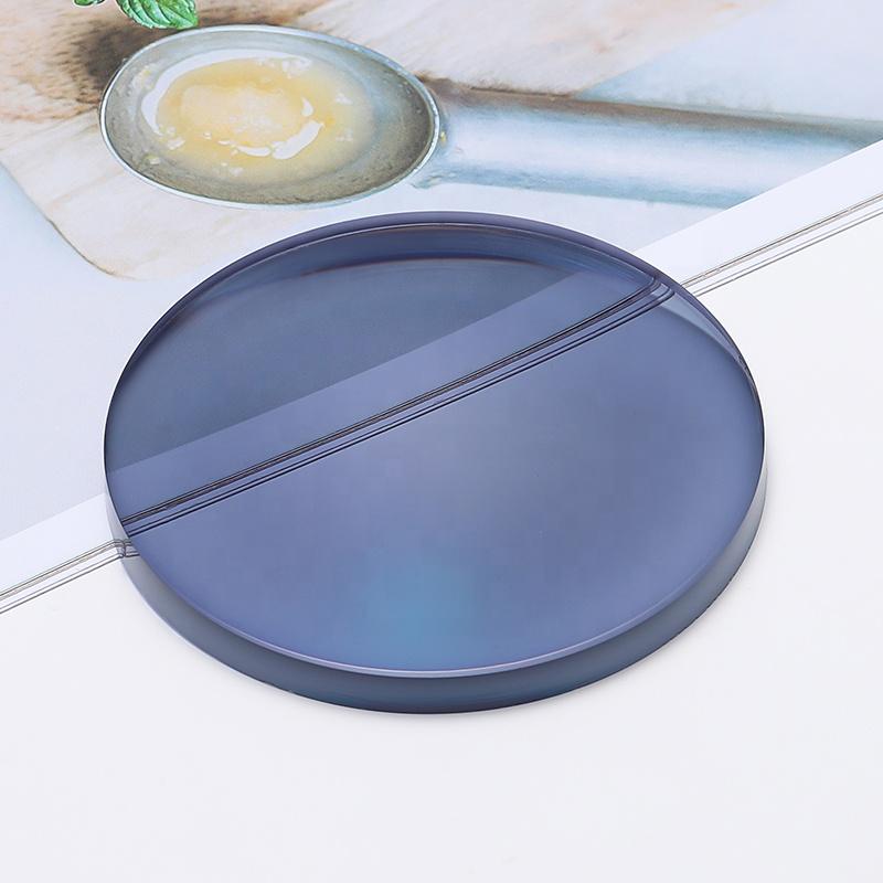 blue block 1.56 photochromic optical reading lenses