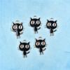 enamel cat black