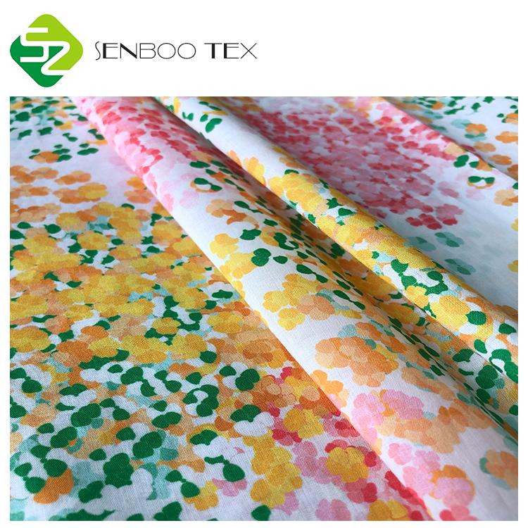 Хлопчатобумажная ткань с японским цветочным принтом, плотность 60*60/90*88, вуаль, ткань для малышей