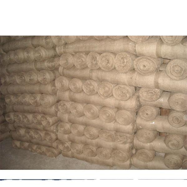China Made Professional 100% Jute Cloth Burlap Fabric Roll