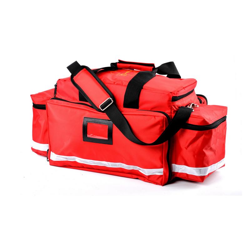 Высококачественная красная сумка для травм с плечевым ремнем, сумка для оказания первой медицинской помощи при чрезвычайных ситуациях