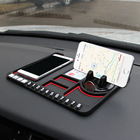 Car Interior Accessories Multifunction Anti-Slip Dashboard Car Sticky Pad Grip Mat Phone Holder