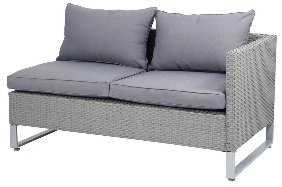 Уличный диван из ротанга, садовый двор, балкон, вилла, диван из ротанга, комплект садовой мебели