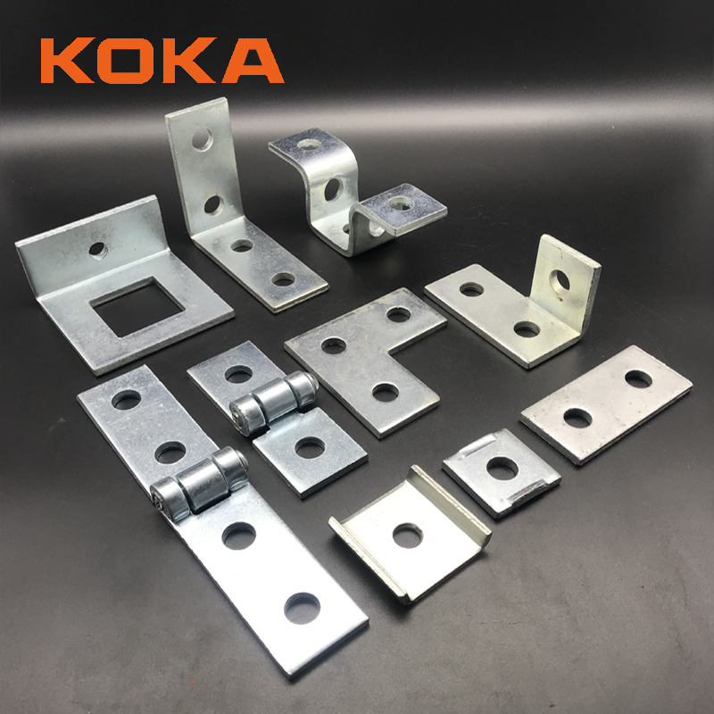 unistrut channel fittings accessories fixing parts