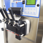 Ice Cream Hot Sell Hosting Selling Rainbow Floor Standing Soft Serve Ice Cream Machine