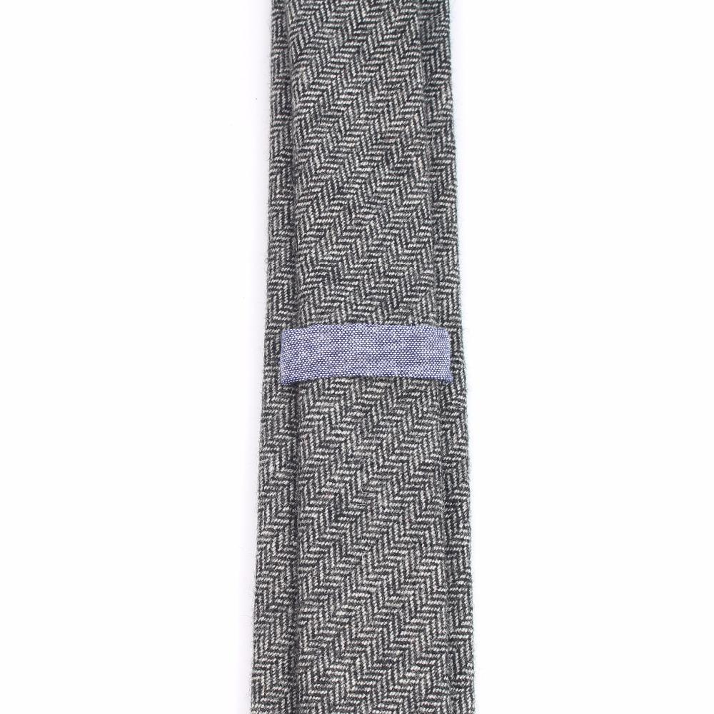 Мужской шерстяной галстук в европейском стиле узкий Вязаный Галстук в горошек однотонный классический галстук в английском стиле ширина 6 см