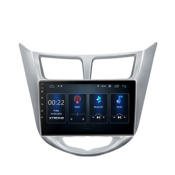 XTRONS 9 inch 2.5D touch screen with dsp/car auto play autoradio android car music system for Hyundai i-25/verna/solaris/accent