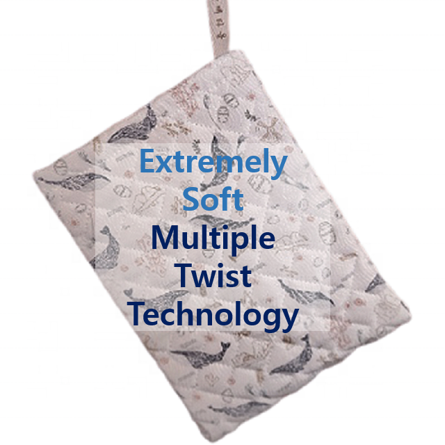 Premium Multiple Twist Technology Exfoliating Mitt Baby Korean Peeling Dead Cell Extremely Soft Skin Self Scrubber Large Size