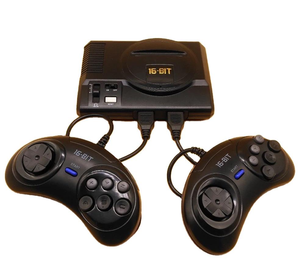 Retro Genesis 208 games 16 bit Game Player video game console For Sega MegaDrive