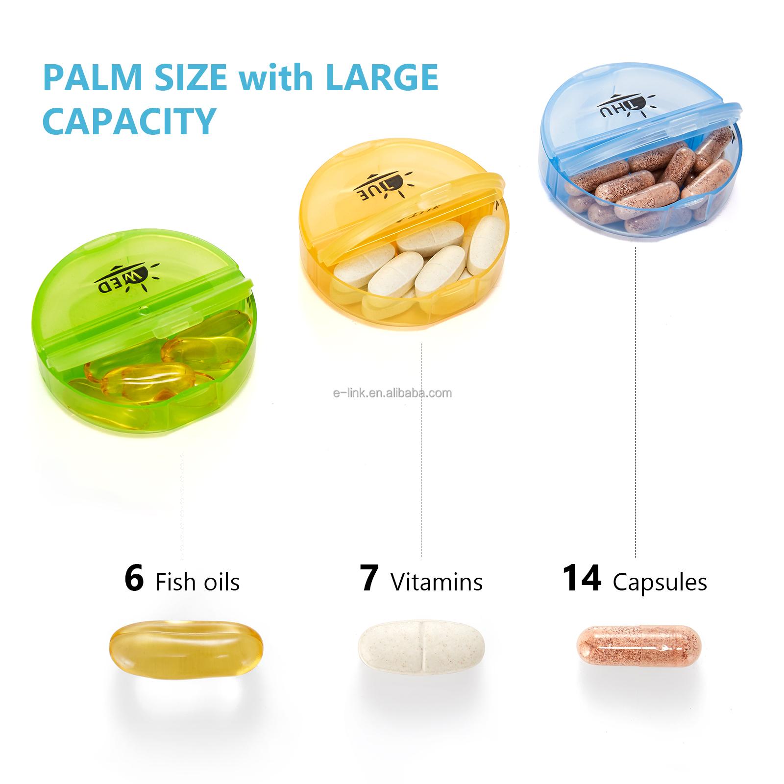 pill box size