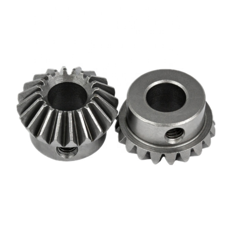 Customized Metal Helical Gear Steel Spiral Bevel Gear