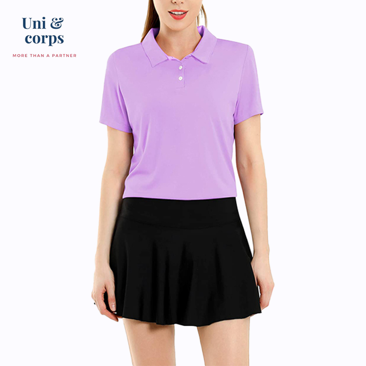 Top Brand Anti-static Custom Polo Shirt Women Plus Size Sportswear Dri-fit Golf Polo Shirt Women - Buy Dri-fit Golf Polo Shirts Women,Plus Size Women ...