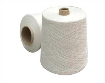 Manufacturer White Cotton Yarn from India