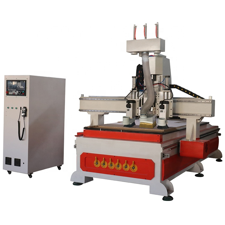 K45mt-dy-3 Multi Spindle Wood Furniture Making Cnc Router with low cost