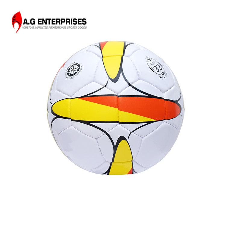 Top Quality Football Genuine Matchball Size 5 Hand Stiched Pu leather Soccerball