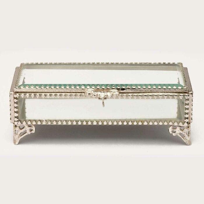 Glass Jewelry Decorative Box Buy Glass Keepsake Decorative Box Mele Jewelry Boxes Small Glass Box Product On Alibaba Com