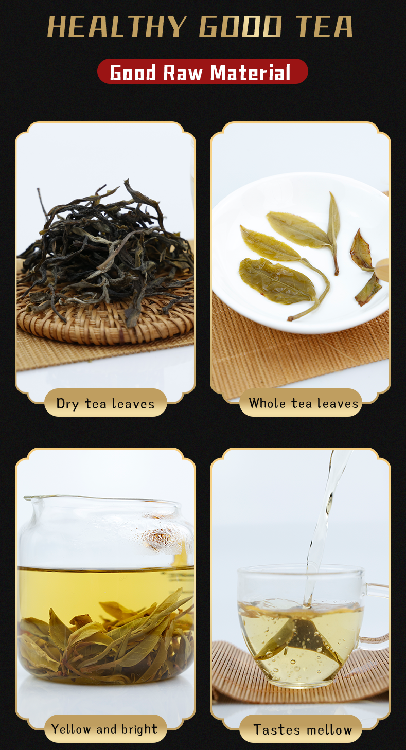 Chinese Premium White Tea with Well Package Loose Slim Tea Healthy Natural Beverage for Women Puer Raw Loose Tea - 4uTea | 4uTea.com
