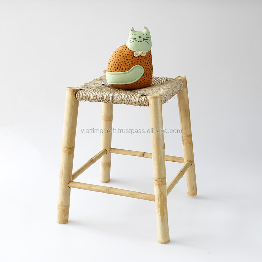 Бамбуковый стул, Тканое сиденье для морских водорослей, бамбуковая мебель оптом