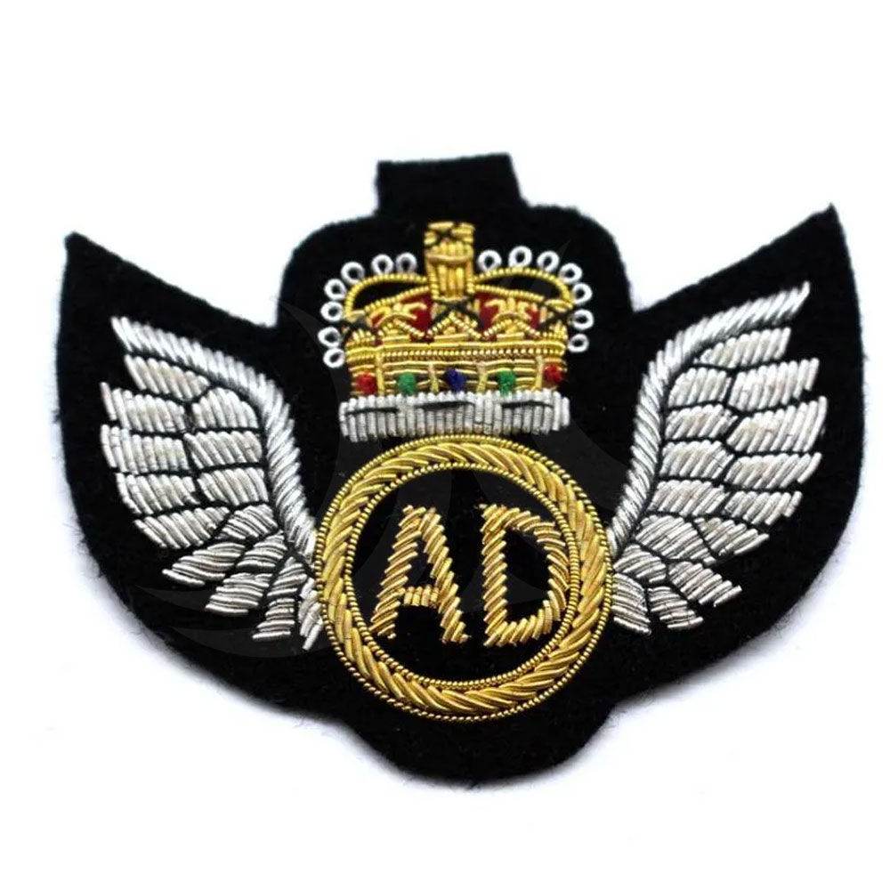 Export Machine Embroidery Designs Badges For Sale