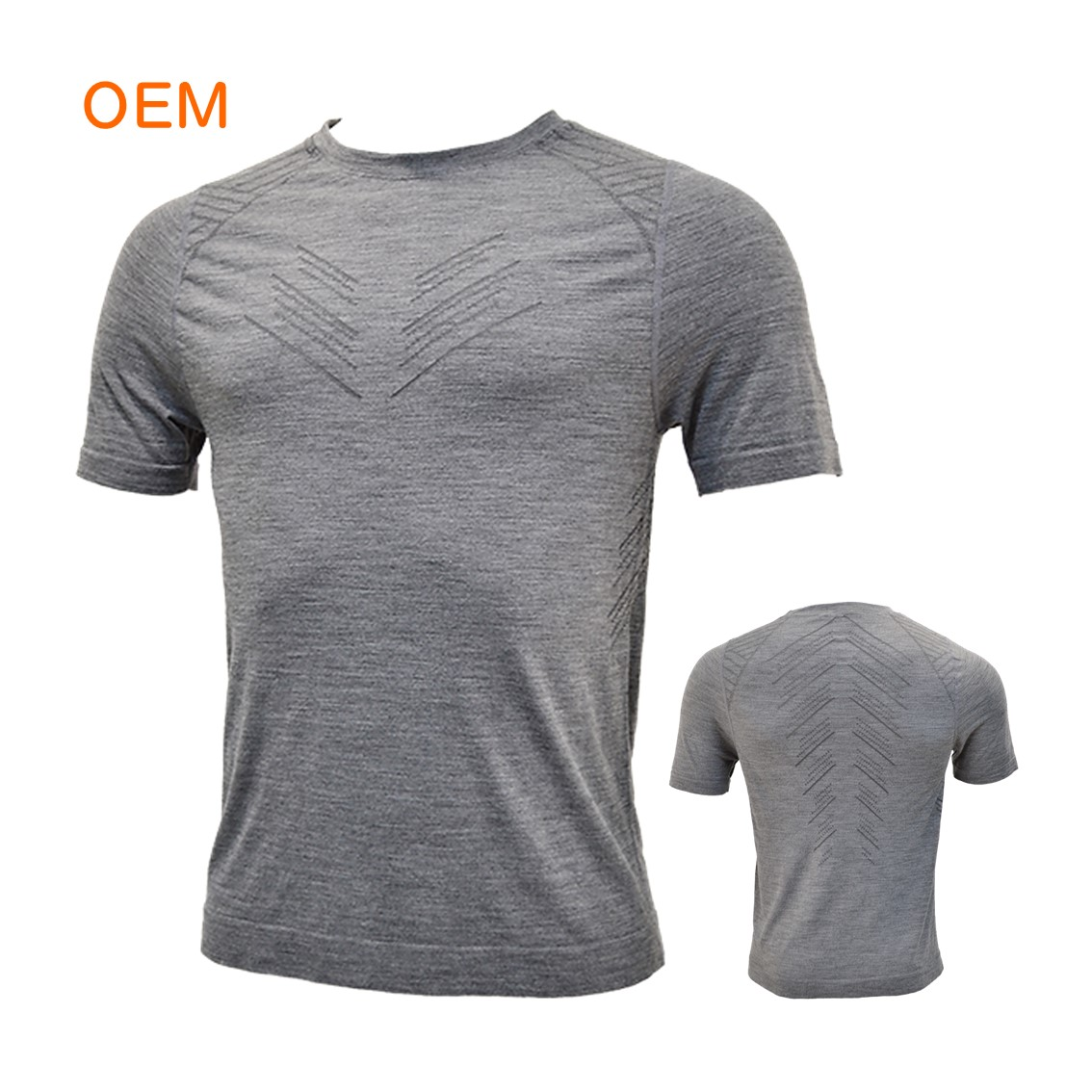 Custom Women's crew first base layer merino wool tops warm clothing winter sports thermal underwear