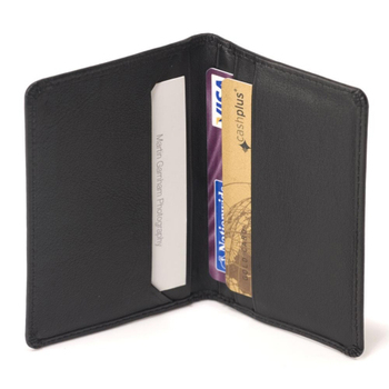 Buy High Quality Pure Leather Card holder With provision to Hold 2 Credit card & 1 Business Card With Bifold Style At Best Price