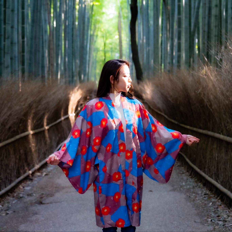 Kimono Haori (họa Tiết Hoa Trà) Áo Choàng Kimono Nhật Bản Chất Lượng Cao -  Buy Kimono,Kimono Áo Choàng Áo Choàng,Nhật Bản Kimono Product on Alibaba.com