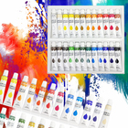 Water-based Paint Paint For Draw Promotional Non-Toxic Water-based Permanent 12 Colors Artist Acrylic Paint