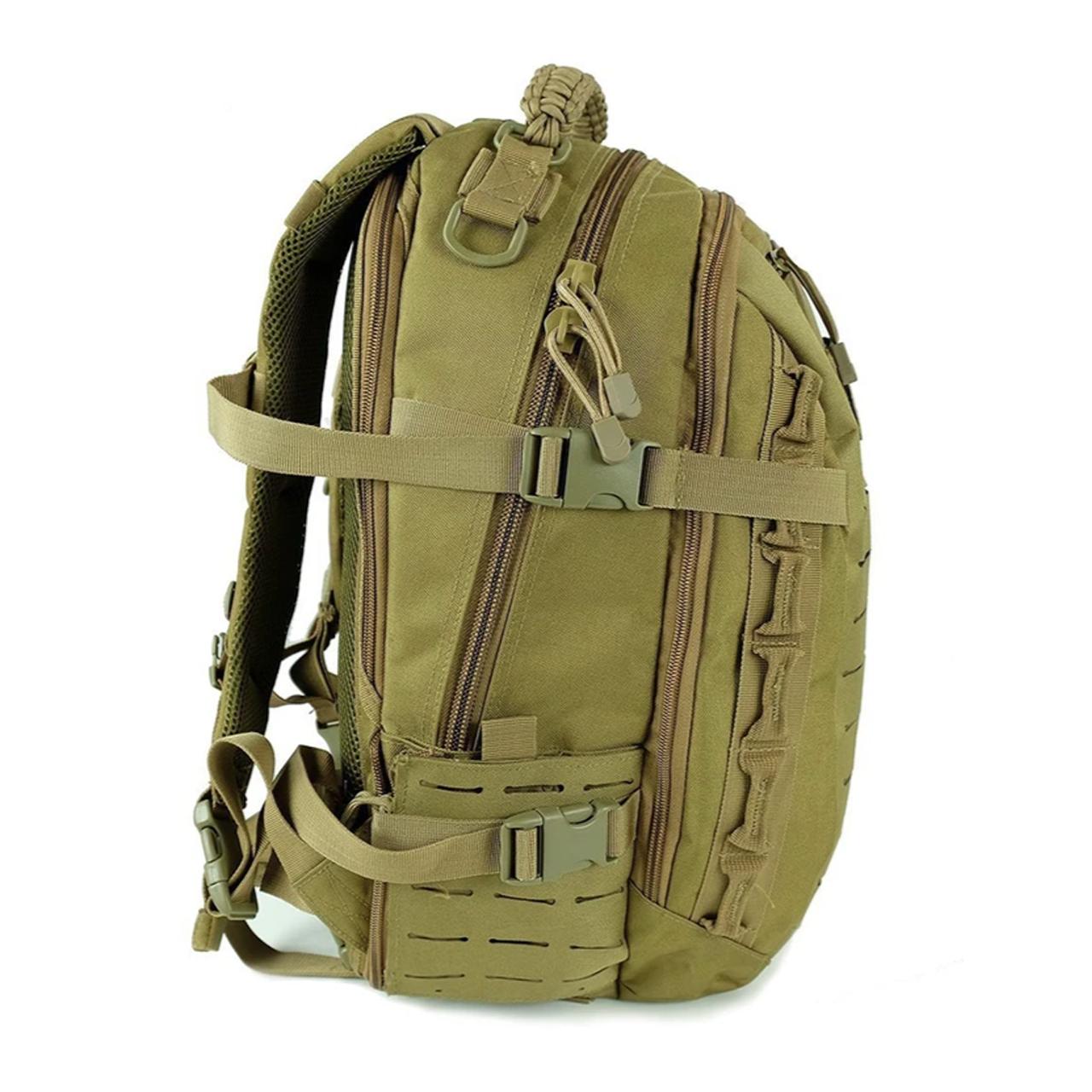 Best value tactical backpack   Compact Outdoor Military Backpack School Bag Trekking Rucksack