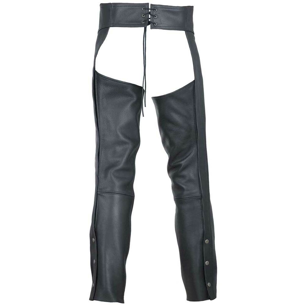 Custom Horse Riding Adults Half Chaps with Full Grain Cowhide Leather