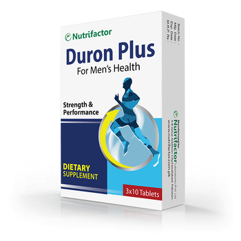 Duron Plus | L-Arginine | L-Citrulline | Men's Sexual Health Supplement